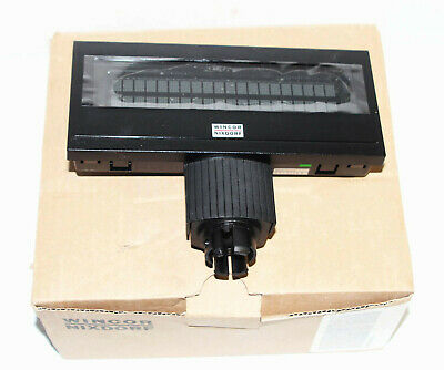 New Oem - Wincor Nixdorf Black Ba63-1 Pos System Customer Display 01750090952