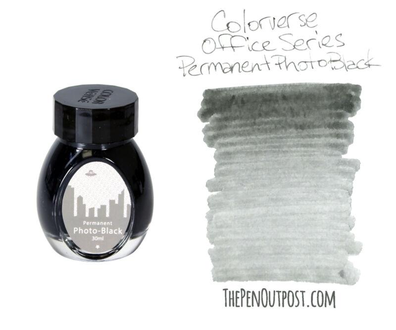 Colorverse Ink - Office Series - 30ml bottle - Photo Black Permanent