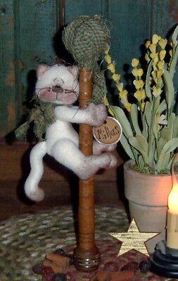 Pattie's Ratties Primitive Kitty Cat Ornie Paper Pattern #298