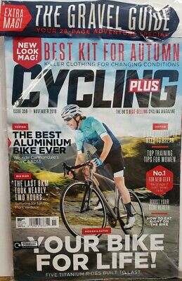 Cycling Plus Nov 2019 Best Kit for Autumn Aluminium Bikes FREE SHIPPING