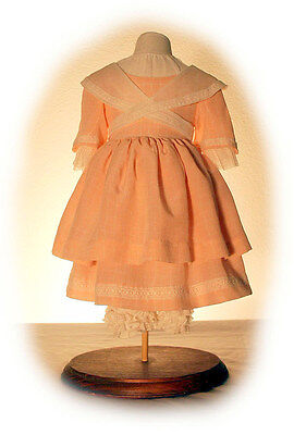"""1854 Dress with Crossed Colar Sewing Pattern Fits 18"""" American Girl Doll # 54"""