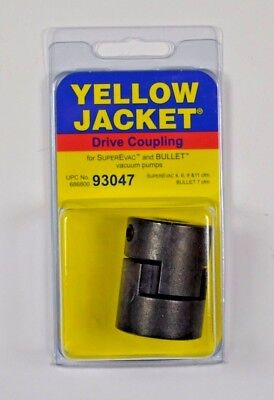 Yellow Jacket Ritchie Engineering 93047 Coupler Vacuum Pump For 12 Shafts