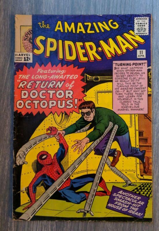 The Amazing Spider-Man #11 (Apr 1964, Marvel) MAKE OFFER!