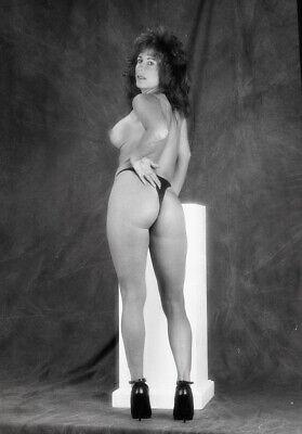 "H705 Original 2.25"" Negative Gorgeous Pin Up Fine Art Nude Artistic (Read Desc)"
