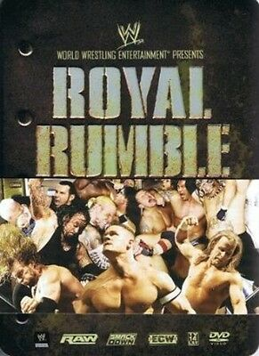 WWE: ROYAL RUMBLE 2008 [LIMITED EDITION COLLECTIBLE TIN BOX SET]