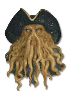 Pirate Squid Mask Davy Jones Pirates of the Caribbean Cthulu Octopus Sea