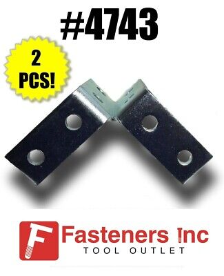 4743 P2225 8-hole Wing Shape Fitting For Unistrut B-line Channel Box Of 2