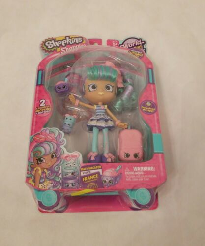 Shopkins World Vacation  Shoppies Doll - Macy Macaron