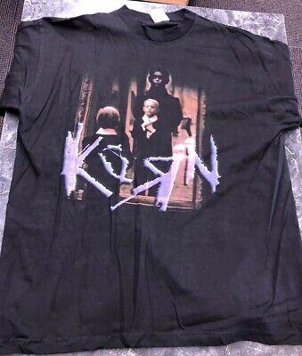 Vintage T Shirt - Korn I'm A Member Of The Local Crew Krew Klub Champ XL Black