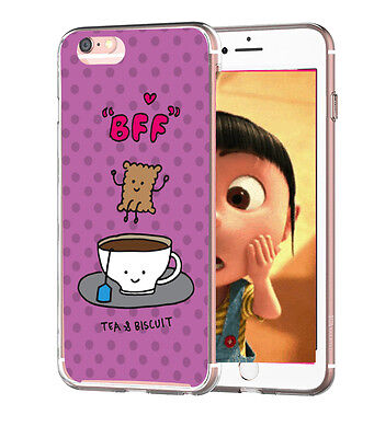 Genuine BUBBLEGUM BEST FRIENDS Cover Cute Funny Cartoon iPhone Case for