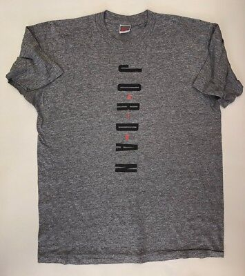 055543c23d2 Nike Air Jordan Evolution 90 s Men s T Shirt Size XLT Rare Gray Tag Worn  Vintage