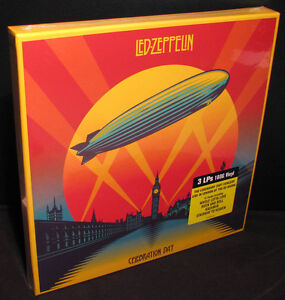 Led-Zeppelin-Celebration-Day-Live-180g-Vinyl-3LP-Record-Box-Set-NEW-SEALED