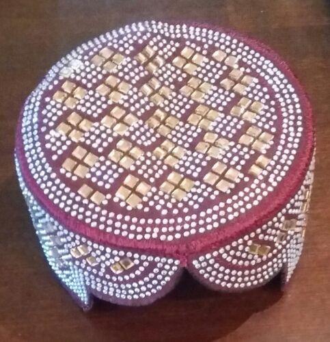 Sindhi Balochi Mens Hat/Cap/Kufi/Topi Hat Pakistan [Special Occasion Gift]