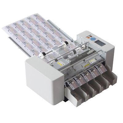 Ssa-003-i-hs A3 Multi-function High Speed Auto Card Cutter Cutting Machine