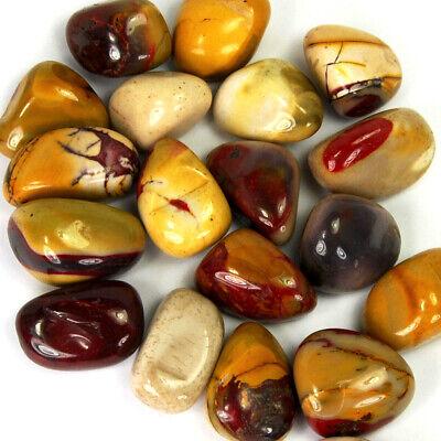 1/4 LB BULK MOOKAITE JASPER Tumbled Stones Natural Crystal Wholesale Medium