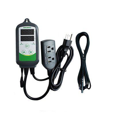 Brewing Hatching Aquarium 110v Digital Temperature Controller Inkbird Itc-308s