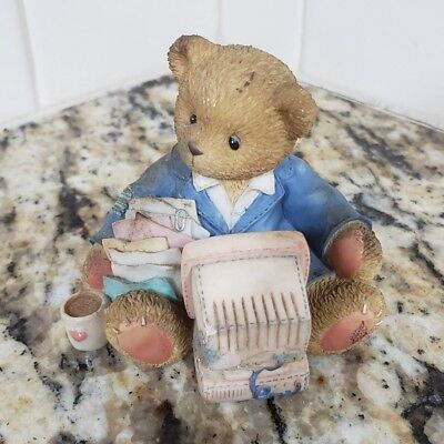Terry Teddies - Cherished Teddies Terry Friendship 1995 Vintage Priscilla Hillman Enesco