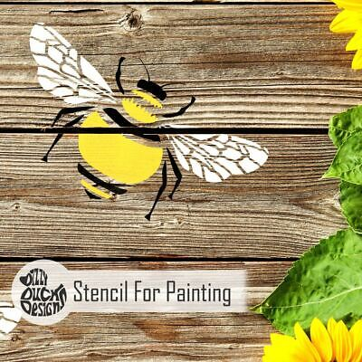 BUMBLE BEE Stencil