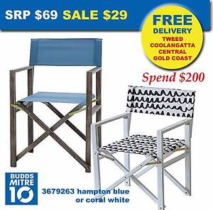 QUALITY DIRECTORS CHAIRS - Both only $29 each Broadbeach Waters Gold Coast City Preview