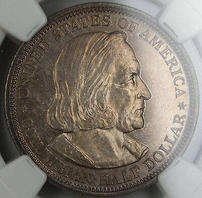 Click now to see the BUY IT NOW Price! 1893 COLUMBIA COMMEMORATIVE HALF DOLLAR NGC UNC BU PROOF