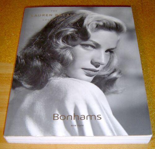 Bonhams  LAUREN BACALL COLLECTION Auction Catalog 2015