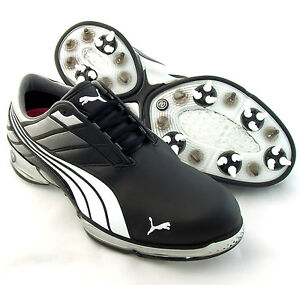 NEW-PUMA-Cell-Fusion-2-Golf-Shoes-Black-Silver-Size-10-M-RETAIL-180