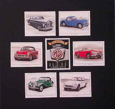 Classic MG Sports Car Cards - 1st Series