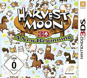 Nintendo 3 DS Harvest Moon: A New Beginning (Nintendo 3DS, 2013, Keep Case) - Eggenburg, Österreich - Nintendo 3 DS Harvest Moon: A New Beginning (Nintendo 3DS, 2013, Keep Case) - Eggenburg, Österreich