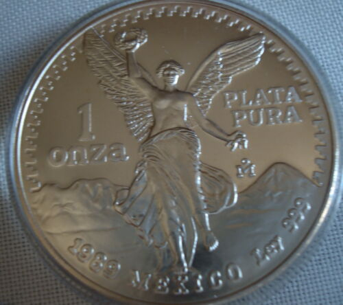 1989 Onza Silver Proof Uncirculated