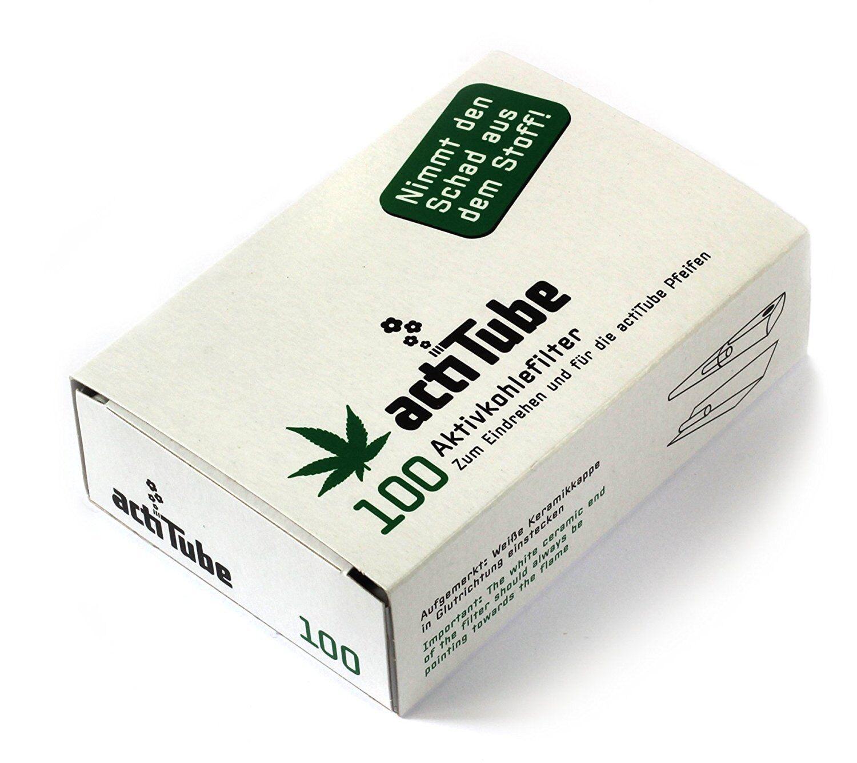 3 x actiTube Tune Filter 8mm acti Tube Mehr Rauchgenuss Aktivkohle 300 Stück