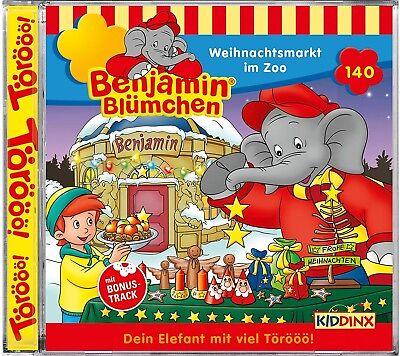 Benjamin Blümchen - Folge 140: Weihnachtsmarkt im Zoo (CD)