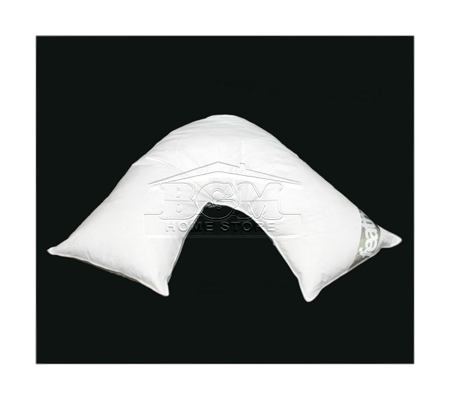 Duck Feather Down V Shaped Pillow Neck Shoulder Back Support 85/% Duck 15/% Down