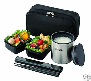 tiger thermal lunch box bento jar keep warm food container. Black Bedroom Furniture Sets. Home Design Ideas