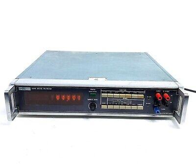 For Repair Vintage Fluke Model 8300a Digital Voltmeter Nixie Tube Powers On