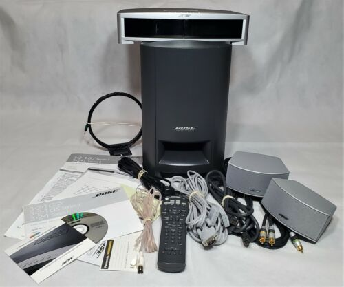 Bose AV3-2-1 GSX Series II Media Center W/ PS3-2-1 II Powered Speaker System