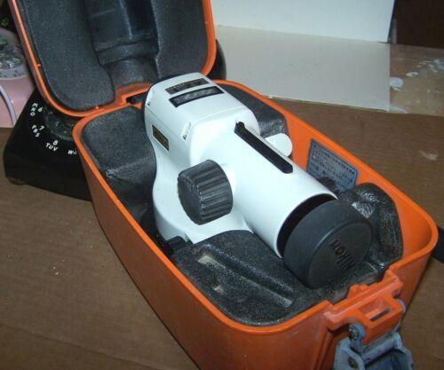 Nikon Level AZ-1 Engineers Automatic Level Surveying Camera With Case