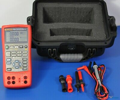 Fluke 725ex Intrinsically Safe Multifunction Process Calibrator Nist Calibrated