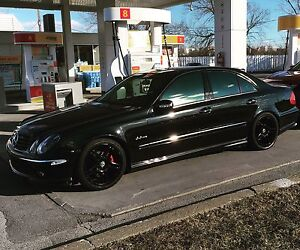 Mercedes-benz E class with complete e63 amg kit & many upgrades