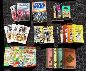 Boys Teenage  Books (27 titles inc Star Wars Minecraft Tom Gates) Avoca Beach Gosford Area Preview