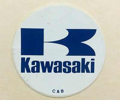 MOTO KAWASAKI Autocollant Vintage Stickers Motorcycle Motorrad Biker Anstecker