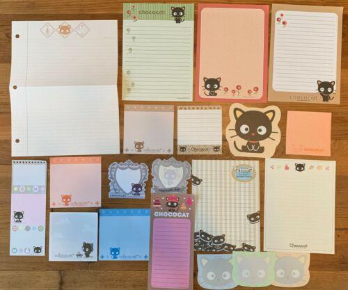 Sanrio  20 Sheets CHOCOCAT Stationery / Stationary LOT MEMO Writing Paper