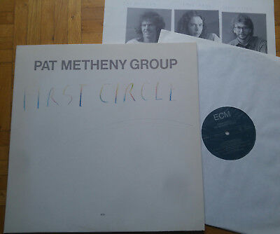 PAT METHENY GROUP - First Circle * LP * ECM 1278 * + insert