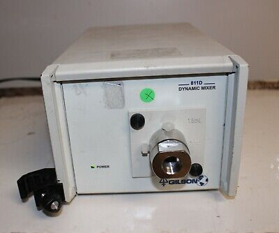 Gilson 811d Dynamic Mixer For Hplc Mobile Phase Solvents 3