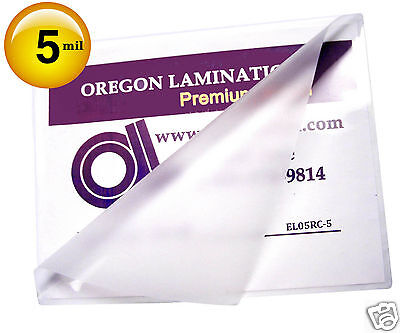 500 12x18 5 Mil Menu Hot Laminating Pouches 12 X 18 Clear For 11 X 17 Sheets