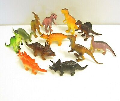 3 NEW LARGE ASSORTED TOY DINOSAURS 6
