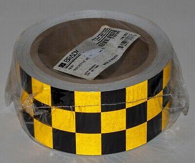 black yellow reflective marking tape