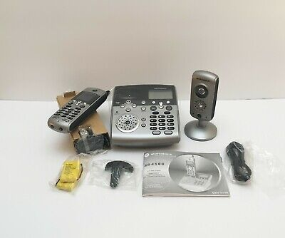 Motorola Cordless Phone with integrated Security Monitoring System SD4581 -