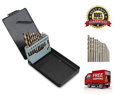 13-Piece Neiko Cobalt-coated Steel Drill Bit Set Heavy Duty and Heat Resistance