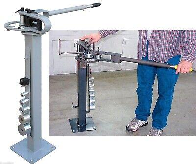 Manual Floor Metal Bender Pipe Tube Rod Bending Metal Fabrication W7 Dies 13