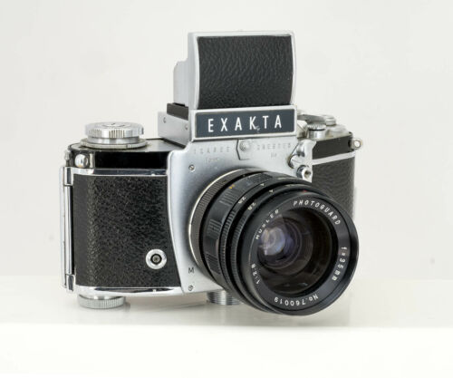 Exakta VX IIa with 35mm f/2.8 wide angle -- WORKING and FILM TESTED